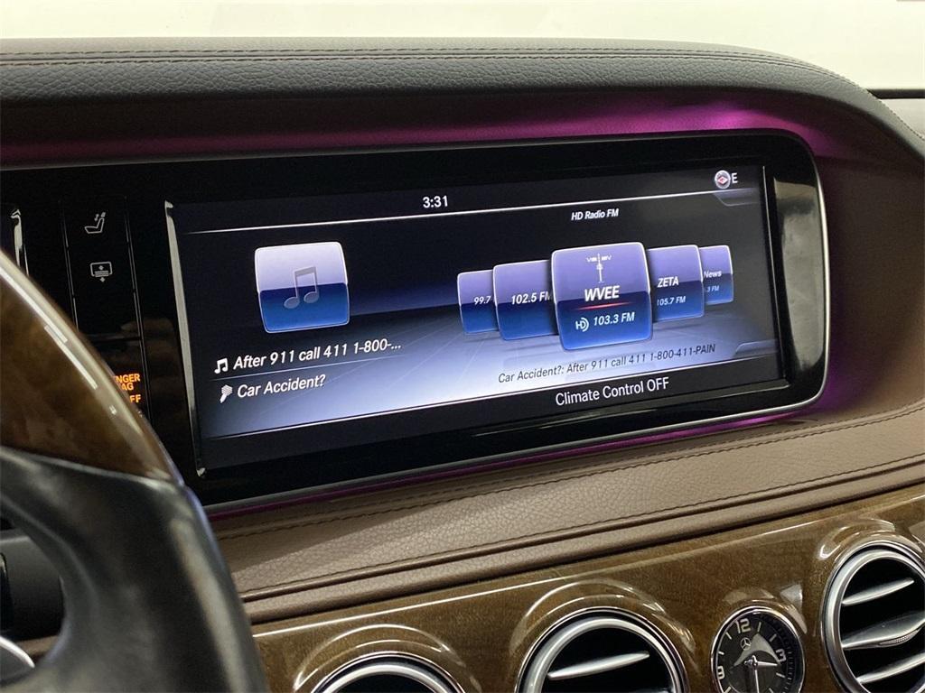 Used 2016 Mercedes-Benz S-Class S 550 for sale $51,692 at Gravity Autos Marietta in Marietta GA 30060 34
