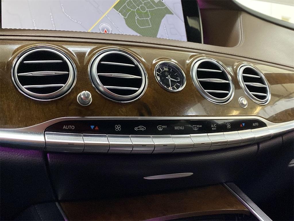 Used 2016 Mercedes-Benz S-Class S 550 for sale $51,692 at Gravity Autos Marietta in Marietta GA 30060 35