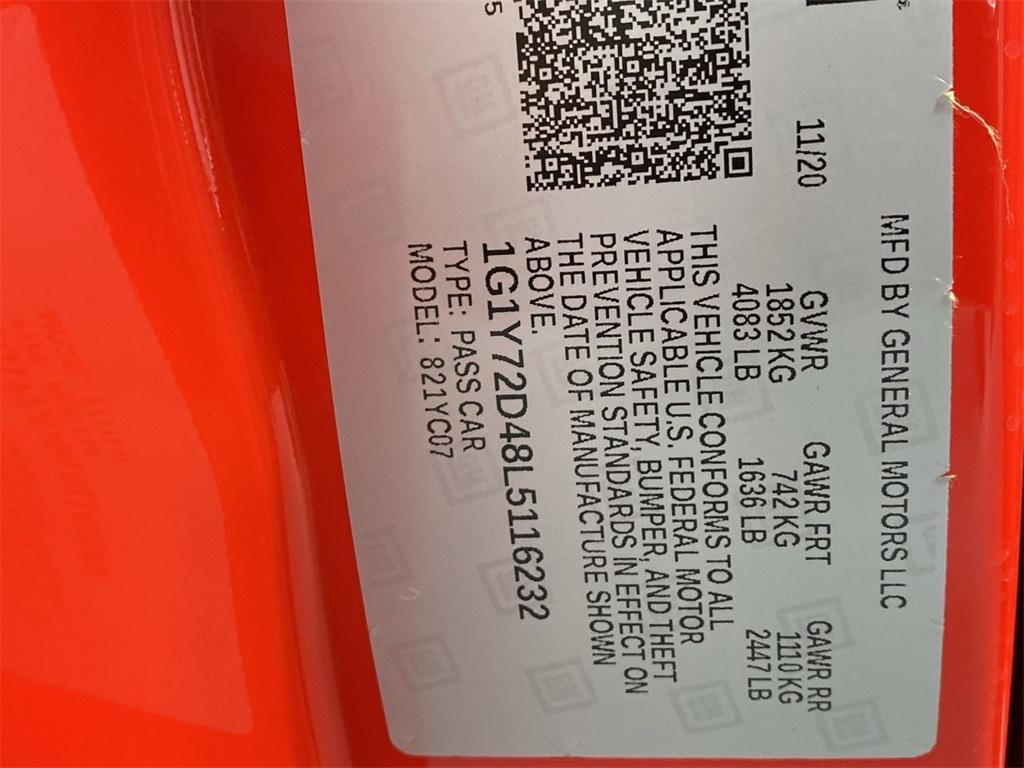 Used 2020 Chevrolet Corvette Stingray for sale $104,998 at Gravity Autos Marietta in Marietta GA 30060 53