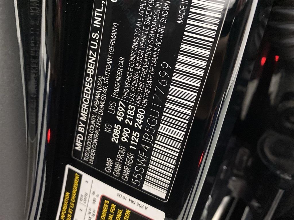 Used 2016 Mercedes-Benz C-Class C 300 for sale $25,998 at Gravity Autos Marietta in Marietta GA 30060 45