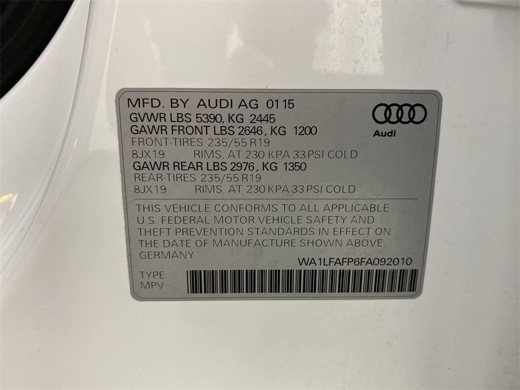 Used 2015 Audi Q5 2.0T Premium Plus for sale $22,998 at Gravity Autos Marietta in Marietta GA 30060 48
