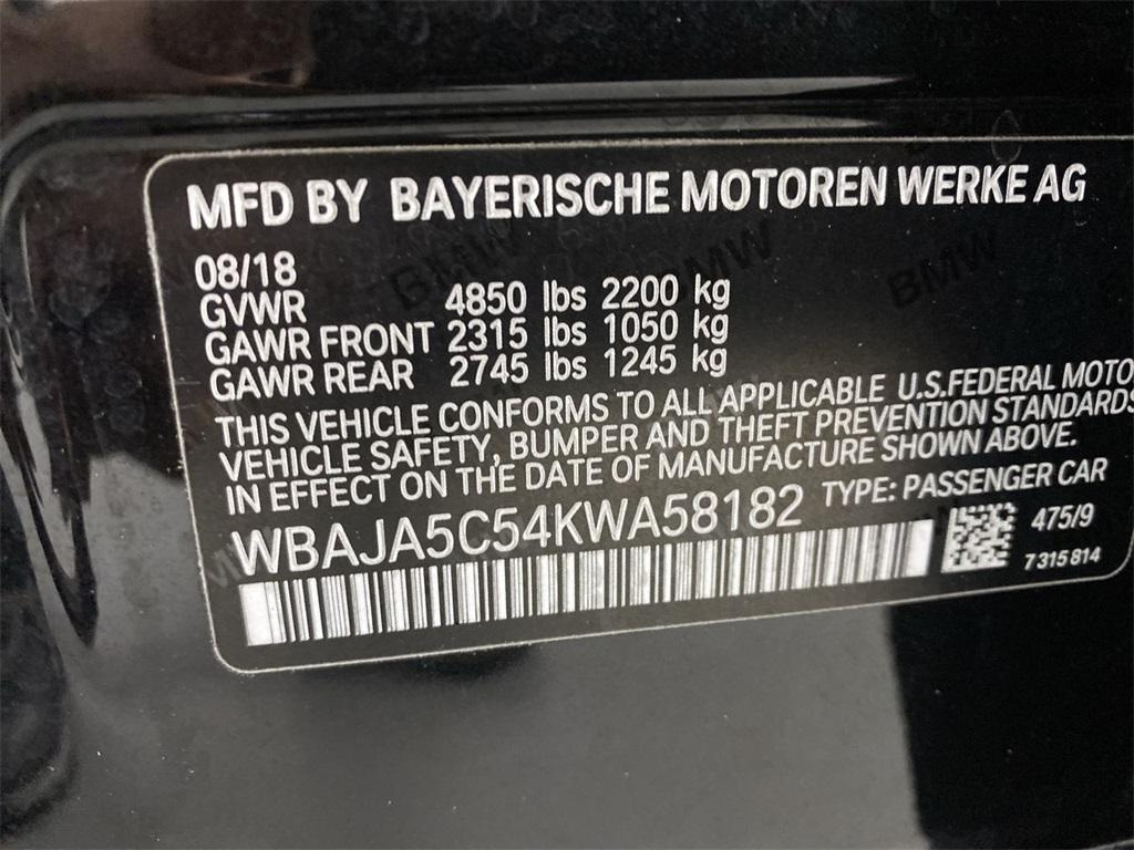 Used 2019 BMW 5 Series 530i for sale $38,444 at Gravity Autos Marietta in Marietta GA 30060 50